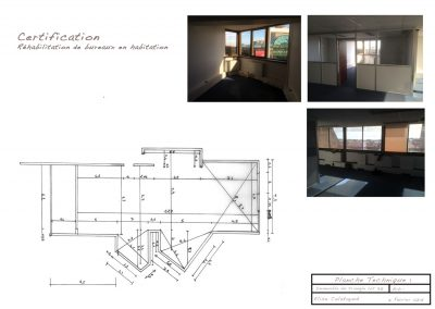 appartement avant les travaux de décoration d'intérieur